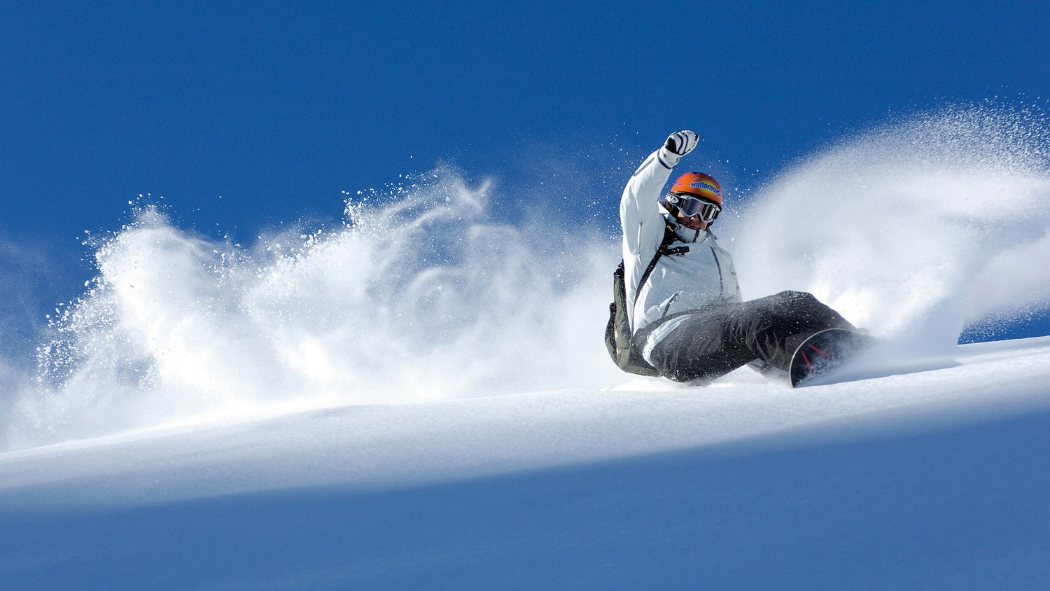 Snowboarding-Wallpaper